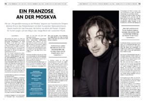 Ein Franzose an der Moskva